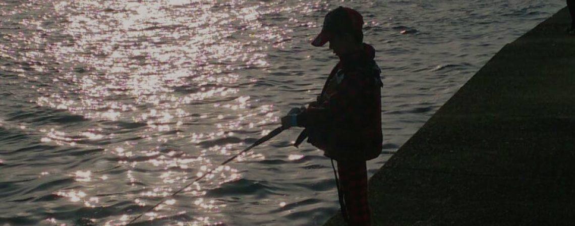 初めての釣りを応援